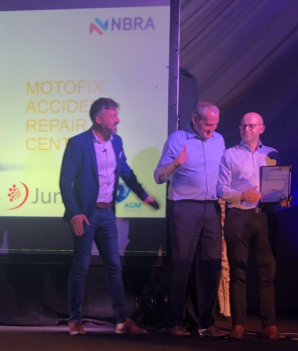 Motofix are WINNERS at the NBRA Greener Bodyshop Awards!